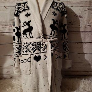 Betsey Johnson Sweater Mid Length Size Small.
